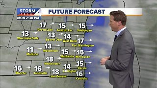 Temperatures near record levels for March - Video