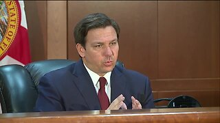 Governor Ron DeSantis adds paper applications for unemployment claims