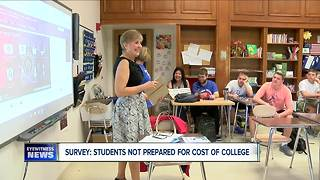 Survey: students not prepared to handle cost of college - Video