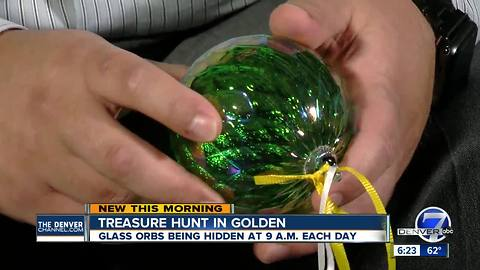 Finders keepers: Colorful glass orbs hidden around Golden all month