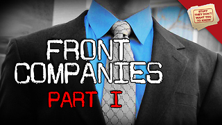 Stuff They Don't Want You to Know: What is a front company? - Video