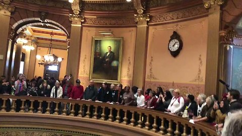 Protesters Occupy Michigan State Capitol in Demonstration Against Lame-Duck Power Grab
