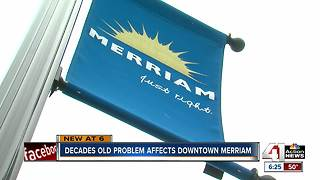 Floodplain impacts downtown growth in Merriam - Video