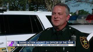 Taking Action Against DV: Officer of the Year