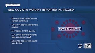 First cases of South African COVID-19 variant detected in Arizona
