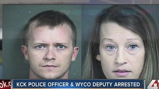 KCK police officer & Wyandotte County deputy arrested - Video