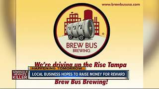 Local brewery raising money for reward that leads to arrest of Seminole Heights killer - Video