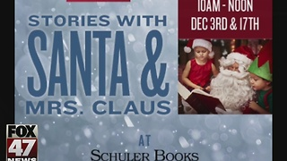 Stories with Santa & Mrs. Claus in Eastwood Towne Center - Video