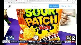 Spicy Sour Patch Kids coming soon - Video