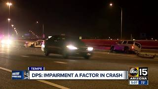Police: Impairment played a role in Loop 202 crash - Video