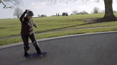 G-rad-man: These young-at-heart pensioners prove age is but a number by shedding the ramps at their local skate parks, encouraging others to do the same