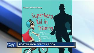 Milwaukee-area foster mom writes children's book - Video