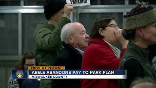 County Executive Chris Abele drops controversial plan to pay for parking at public parks - Video