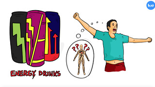 How An Energy Drink Affects Your Body Over 24 Hours - Video