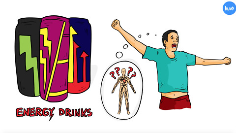 How An Energy Drink Affects Your Body Over 24 Hours