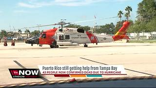 Puerto Rico still getting help from Tampa Bay - Video