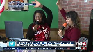 Christmas Karaoke at Beef O Brady's - Video