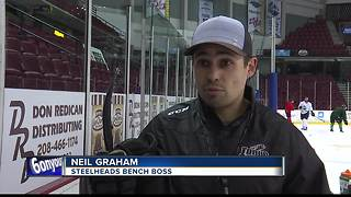 Steelheads begin season tomorrow - Video
