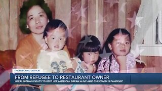 From refugee to restaurant owner: Local woman fights to keep dream alive amid pandemic