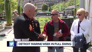 Detroit Marine week in full swing - Video