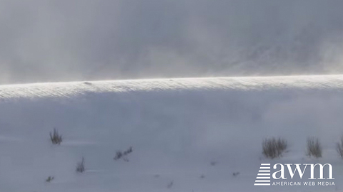 Rare Phenomenon Knows As A Ghost Snow Tsunami Finally Caught On Camera