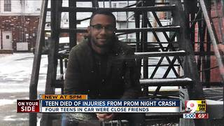 Monroe High School student dies after prom night crash - Video