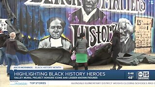Highlighting Black history heroes through art in Phoenix