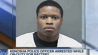 Kenosha Officer arrested - Video
