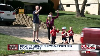 Drive-By Parade Shows Support for Local Pastors