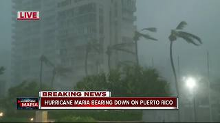 'Extremely dangerous' Hurricane Maria makes landfall in Puerto Rico as Category 4 storm - Video