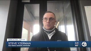Red Wings GM Steve Yzerman explains Anthony Mantha and Jakub Vrana trade