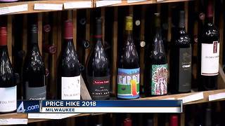 Airfare, wine and other items expected to raise in price in 2018 - Video