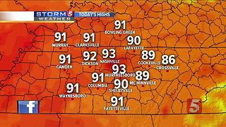 Lelan's Morning Forecast: Monday, July 24, 2017 - Video
