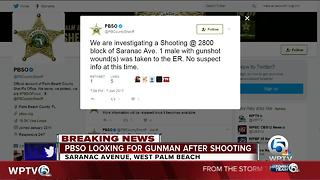 Deputies investigating shooting in West Palm Beach - Video