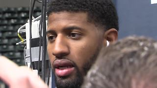 Paul George: Let Victor Oladipo live - Video