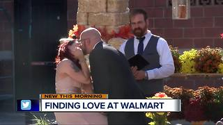Metro Detroit couple finds love, gets married at Walmart - Video