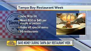 Tampa Bay Restaurant Week makes dining at local restaurants more affordable - Video