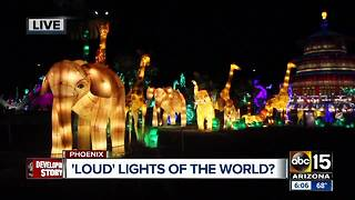 Residents concerned about 'Lights of the World' noise - Video