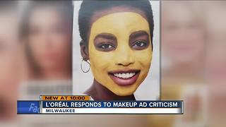 L'Oréal ad in Wisconsin store sparks criticism - Video