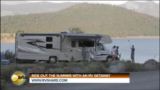 Ride out the summer with a RV getaway