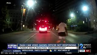 Police share video of officer's apathy for potential gun crime