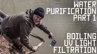 How to Purify Water part 1 | Survival Training | Tactical Rifleman