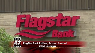 Suspect arrested after robbery at Flagstar Bank