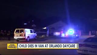 Toddler found dead inside van outside Florida daycare after child neglect report, police say - Video