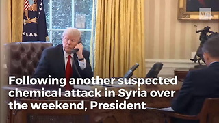 Developing: Trump Says He's Hitting Syria