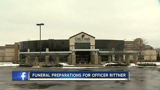 Funeral preparations continue for fallen MPD Officer Matthew Rittner