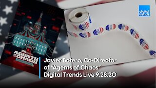 """""""Agents of Chaos"""" Co-Director Javier Botero 
