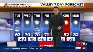 23ABC Evening weather update March 22, 2021
