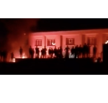 Crowd Starts Fire at Girls' School After Allegations of Sexual Assault