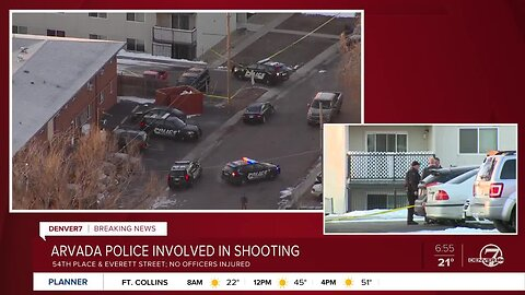 Arvada police involved in shooting early Friday morning (7 a.m. update)